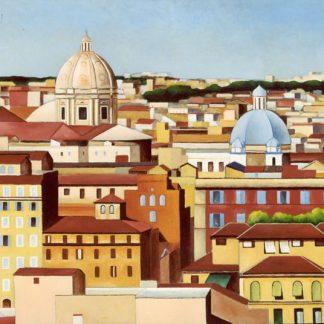 Dal Gianicolo, opera di Antonio Finelli