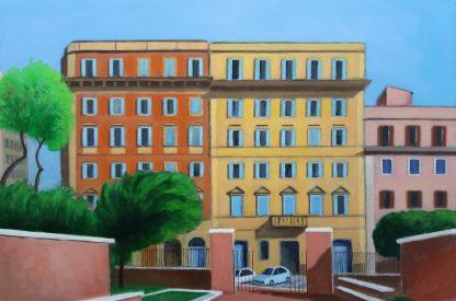 Le tre case - Piazza Dante