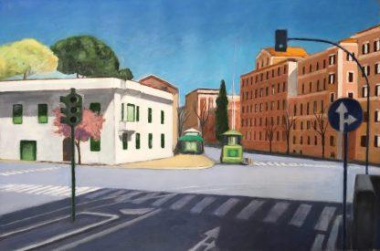 Incrocio di Viale Manzoni con Via E. Filiberto